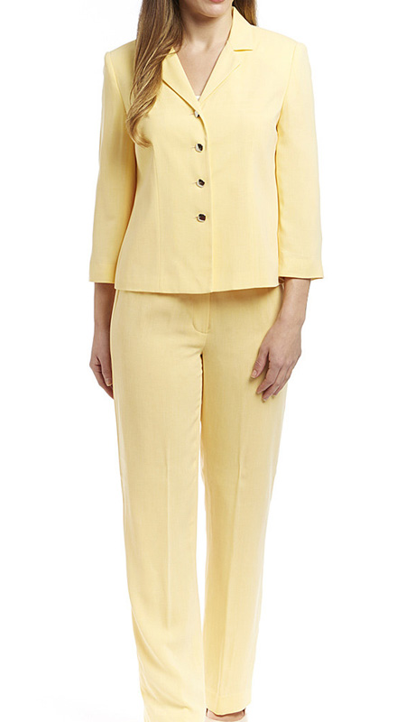 RF Studio 90650 ( 2pc Renova Ladies Career Suit With Tonal Texture Jacket And Pant )