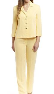 RF Studio 90650 ( 2pc Renova Ladies Career Suit With Tonal Texture Jacket And Pant )