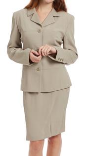 RF Studio 62801-TA ( 2pc Renova Ladies Career Suit With  Jacket And Skirt )