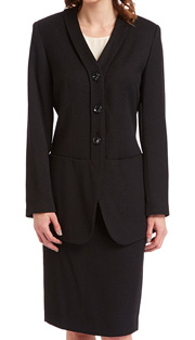RF Studio 90011 ( 2pc Tweed Ladies Career Suit With Jacket And Skirt )