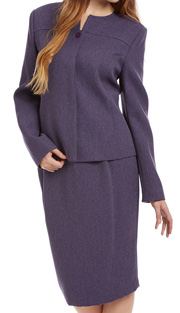 RF Studio 90746-LIL ( 2pc Tweed Ladies Church And Career Suit With Jacket And Skirt )