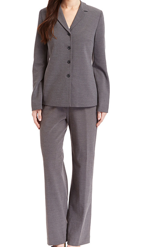 RF Studio 90825 ( 2pc Renova Ladies Career Suit With Light Pin Stripe Jacket And Pant )