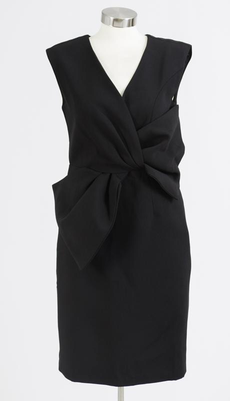 N By Nancy Collection M888-BK ( 1pc Bow Waist Dress )