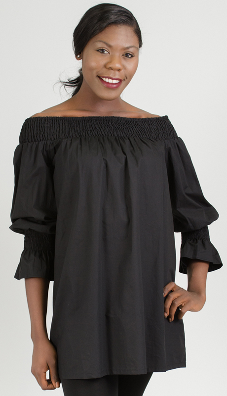 Why Collection T0158-BK ( 1pc Off The Shoulder Top )