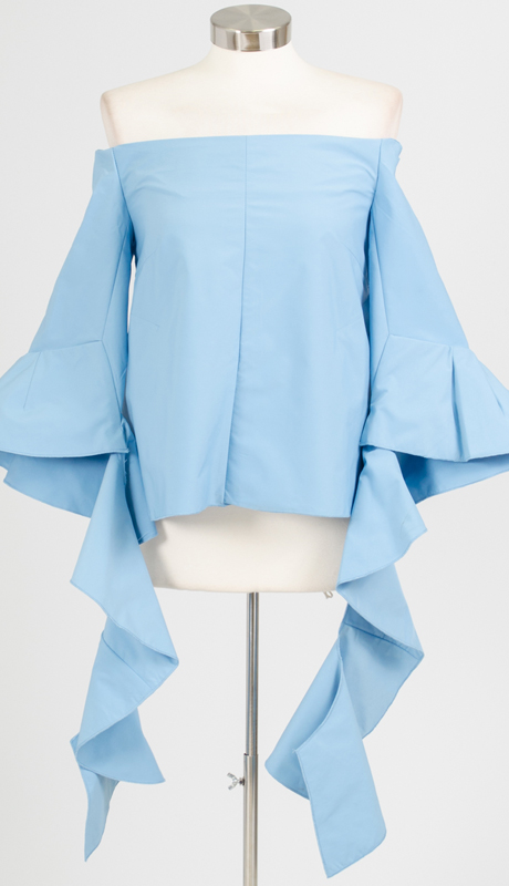 Why Collection T0010-BL ( 1pc Off The Shoulder Top )