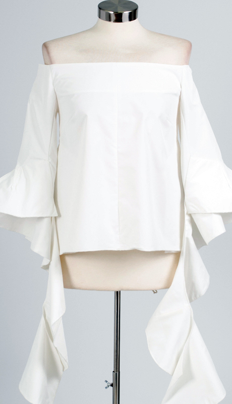 Why Collection T0010-WH ( 1pc Off The Shoulder Top )