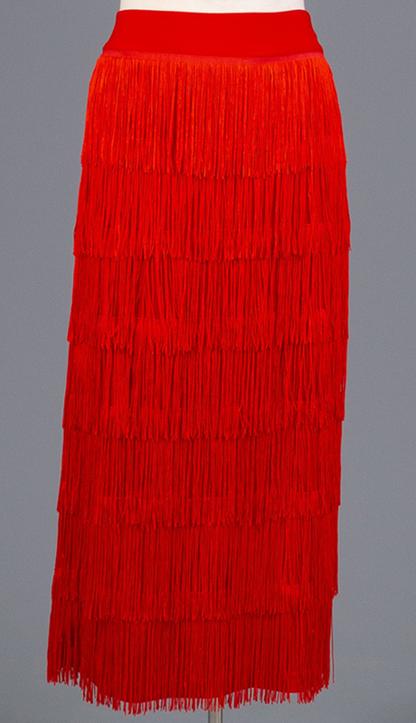 Rose Collection RC470-RE ( 1pc Fringe Skirt )