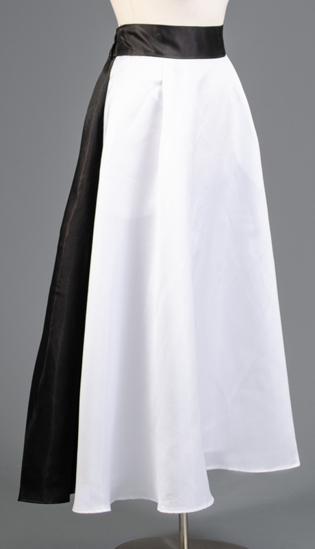 Rose Collection RC410-WB ( 1pc A-line Two Tone Skirt )