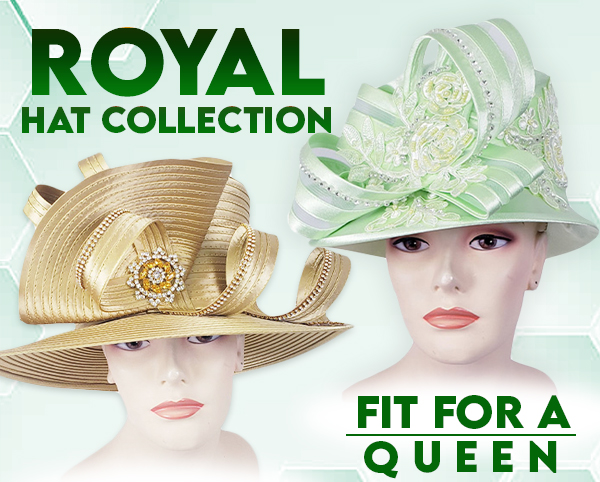 Royal Collection High End Hats Fall And Holiday 2019