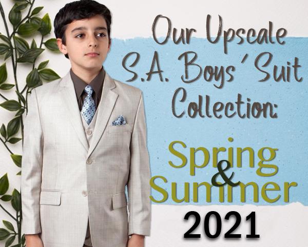 Upscale Boys Suits
