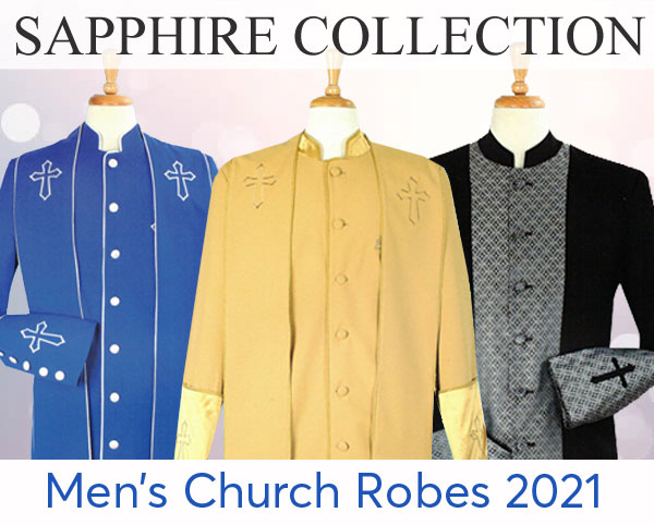 Sapphire Collection Mens Church Robes 2021