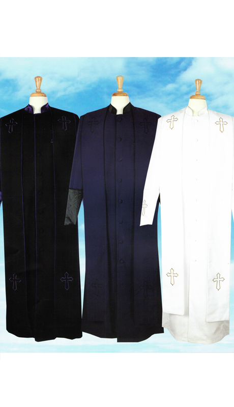 Sapphire Collection Mens Church Robe 2