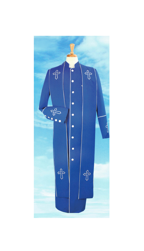 Sapphire Collection Mens Church Robe 3