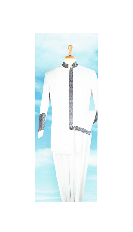Sapphire Collection Mens Church-1 Pastor Suit