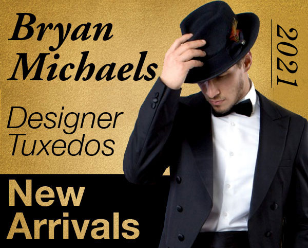 Bryan Michaels Designer Mens Tuxedos