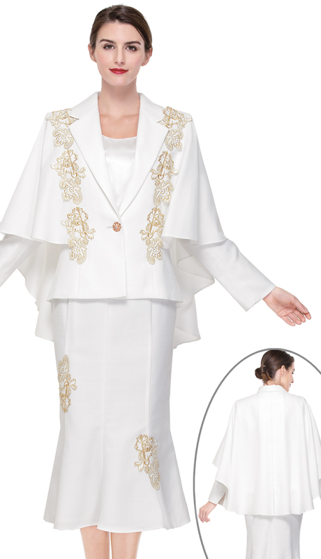 Serafina 3908-IG ( 2pc Novelty Ladies Suit For Church )