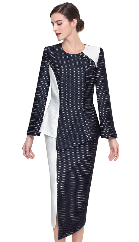Serafina 3903-NO ( 2pc Novelty Ladies Suit For Sunday )