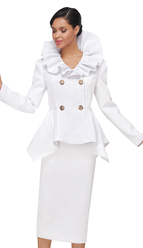 Serafina 4042-CO ( 2pc Novelty Ladies Suit For Church )