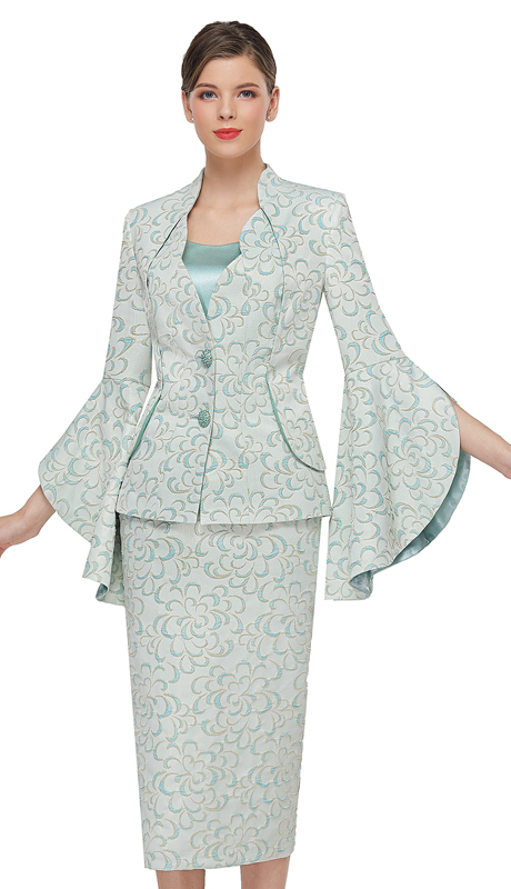 Serafina 4030 ( 3pc Novelty First Ladies Suit )