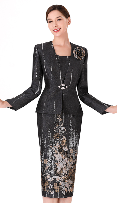 Serafina 3975 ( 2pc Novelty Ladies Suit For Church )
