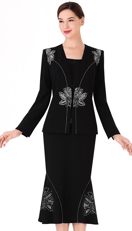 Serafina 3960 ( 2pc PeachSkin First Lady Suit For Church )