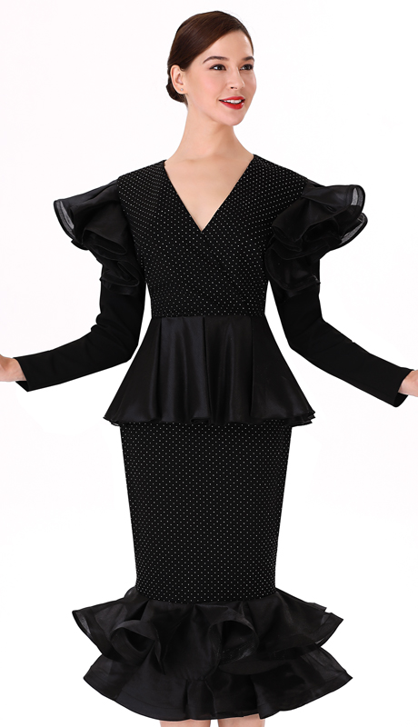 Serafina 3037T-3038T-CO ( 2pc Novelty Ladies Suit For Church )