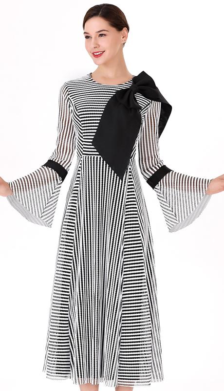 Serafina 3016D ( 2pc Novelty Ladies Dress For Church )