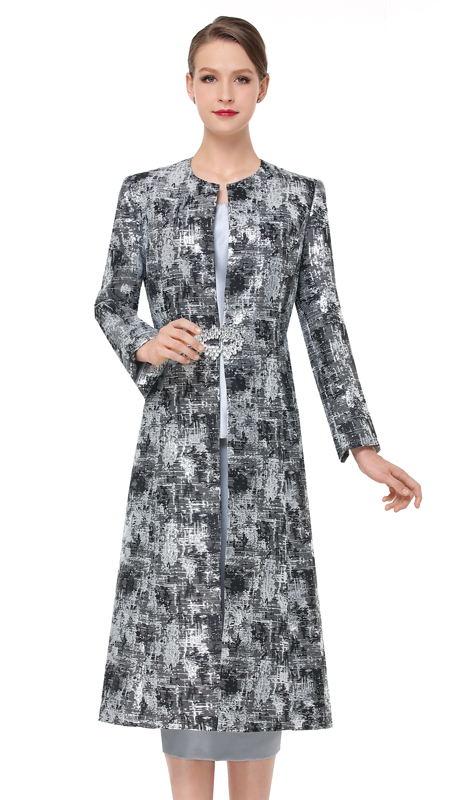 Serafina 3835-SB ( 3pc Novelty Ladies Sunday Suit )