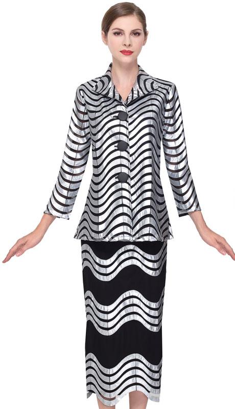 Serafina 528-BS-CO ( 2pc Novelty Ladies Sunday Suit )