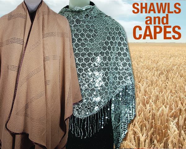 Designer Shawls And Capes  Spring And Summer 2018