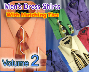 Mens Dress Shirts With Matching Tie 2018 Volume 2