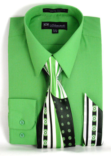 SG21Apple-J ( Matching Tie And Hanky Included )