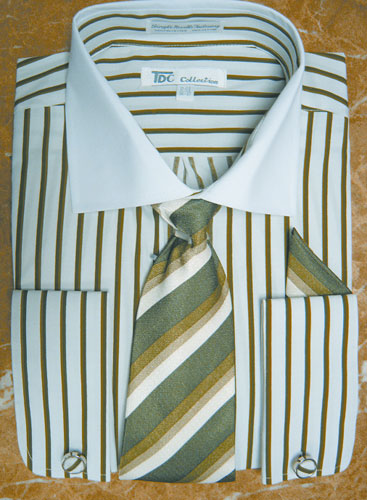 SG21B-G ( Matching Tie, Cuff Link And Hanky Included )