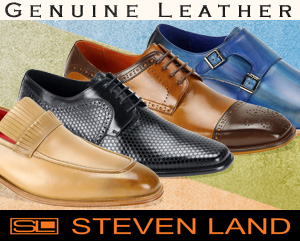 Mens Shoes By Steven Land