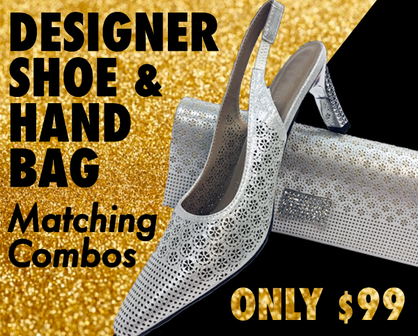Beautiful Designer Shoes And Matching Handbags 2021