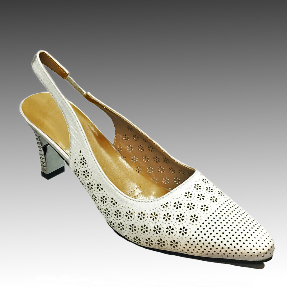 "H132 HARRY SLINGBACK-W ( Laser Cut Lattice Slingbacks With Comfort Cushion And 2.75"" Heel )"