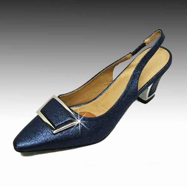 "H138 TWIGGY-N ( Mod Style Slingback With Comfort Cushion And 2.75"" Heel )"