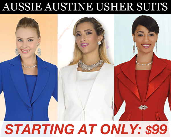 Aussie Austine Special Occasion Usher Fall And Holiday 2020