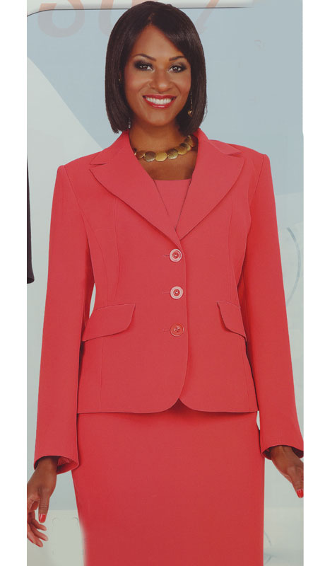 Aussie Austine Church And Choir Uniform S828-TR ( 2pc Renova Jacket And Skirt Womens Suit )