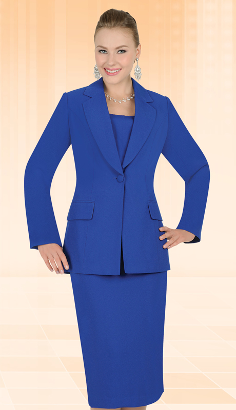 Aussie Austine Church And Choir Uniform 12441-RB ( 2pc Renova Jacket And Skirt Womens Suit )
