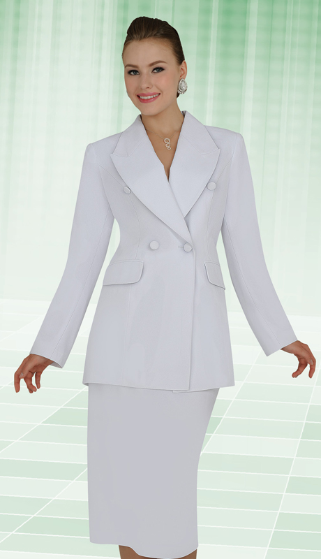 Aussie Austine Church And Choir Uniform 11804 ( 2pc Renova Jacket And Skirt Womens Suit )