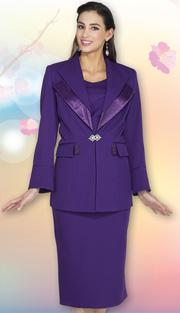 Aussie Austine Church And Choir Uniform 12427 ( 2pc Renova Jacket And Skirt Womens Suit )