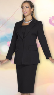 Aussie Austine Church And Choir Uniform 12441 ( 2pc Renova Jacket And Skirt Womens Suit )