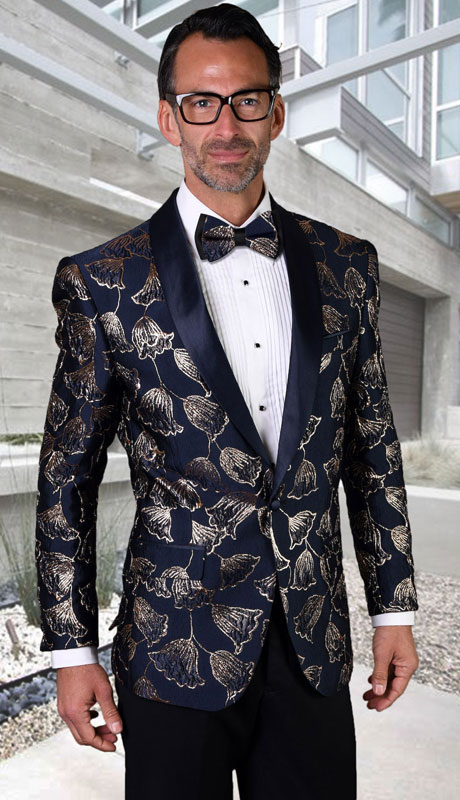 PJ-207-NA ( 1pc Single Jacket With Matching Bow Tie )