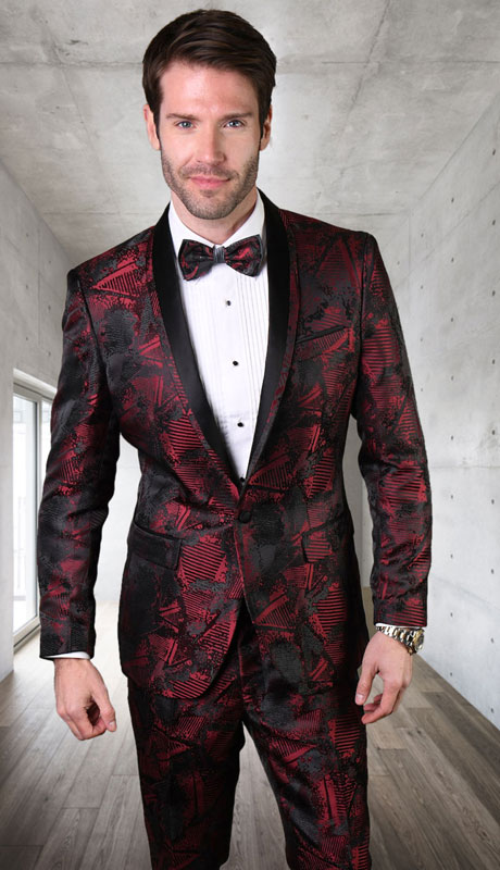 RJ-103-BB ( 1pc Single Jacket With Matching Bow Tie )