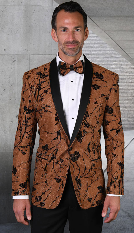 LJ-101-CO ( 1pc Single Jacket With Matching Bow Tie )