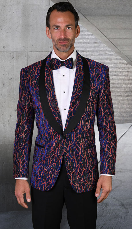 LJ-103-RO ( 1pc Single Jacket With Matching Bow Tie )