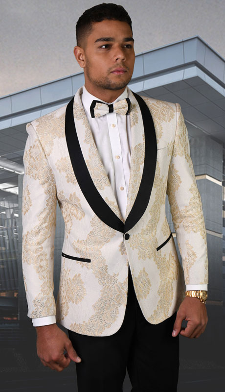 LJ-104-OW ( 1pc Single Jacket With Matching Bow Tie )