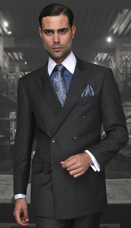 TZD-100-CH ( 2pc Double Breasted Suit, Super 150's )