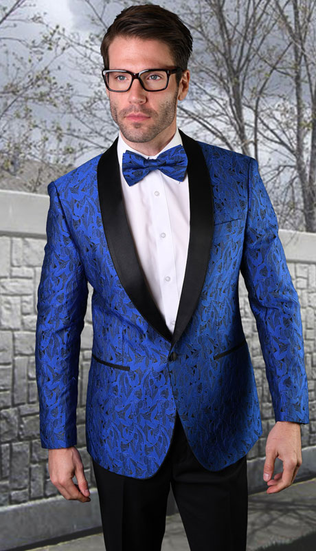 VJ-123-RO ( 1pc Single Jacket With Matching Bow Tie )